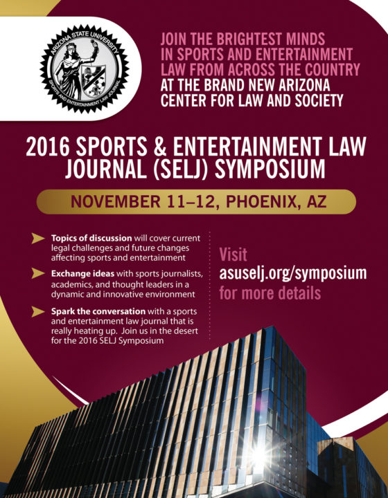 Sports and Entertainment Law Symposium